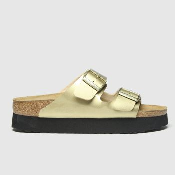Birkenstock Gold Papillio Pure Platform c2namevalue::Womens Sandals