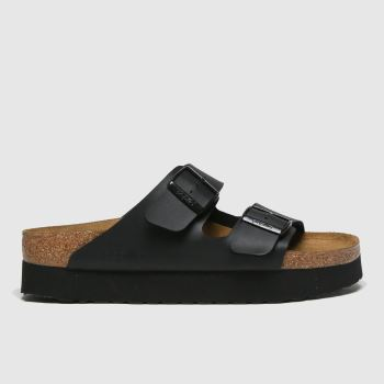 Birkenstock Black Papillio Platform c2namevalue::Womens Sandals