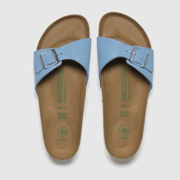 BIRKENSTOCK Pale Blue Madrid Womens Sandals
