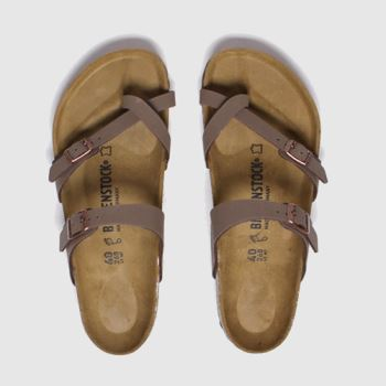 Birkenstock Brown Mayari Womens Sandals#