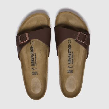 BIRKENSTOCK Brown Madrid Womens Sandals