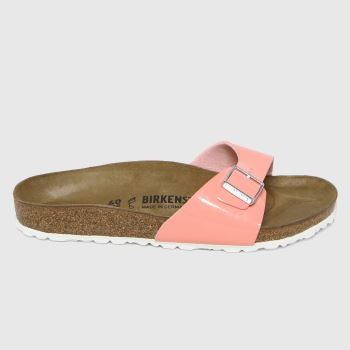 BIRKENSTOCK Pink Madrid Patent Womens Sandals