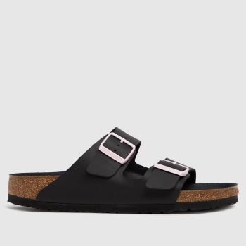 BIRKENSTOCK Black Arizona Womens Sandals