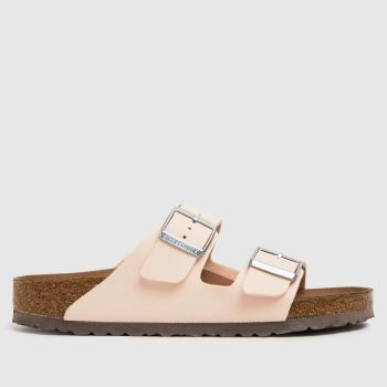 BIRKENSTOCK Pale Pink Arizona Earthy Vegan Womens Sandals