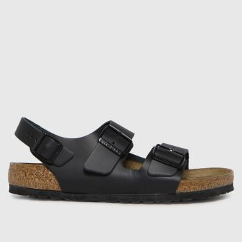 BIRKENSTOCK Black Milano Womens Sandals