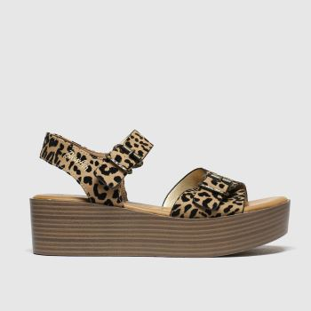 Blowfish Malibu Brown & Black Leeds Vegan Sandals