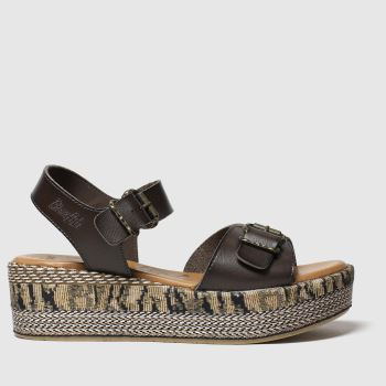 Blowfish Brown Leeds B Vegan Womens Sandals