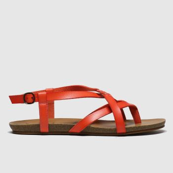 Blowfish Malibu Red Granola B Vegan Womens Sandals#