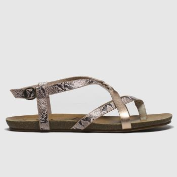 Blowfish Malibu Bronze Granola B Vegan Womens Sandals#