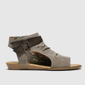 Blowfish Malibu Brown Balla Sandals