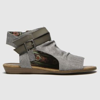 Blowfish Malibu Grey Balla Womens Sandals