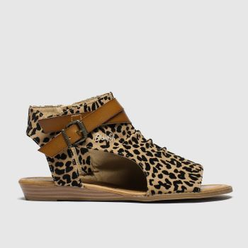 Blowfish Malibu Brown & Black Balla Sandals