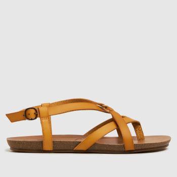 Blowfish Malibu Yellow Granola B Womens Sandals