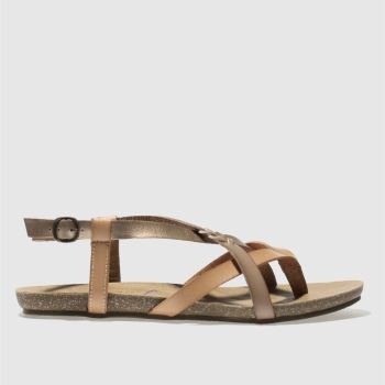 Blowfish Tan & Bronze GRANOLA B Sandals