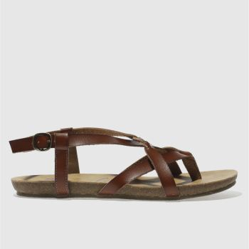 Blowfish Malibu Tan Granola B Vegan Womens Sandals