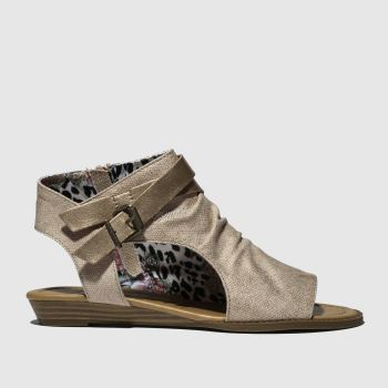 Blowfish Gold Balla Womens Sandals