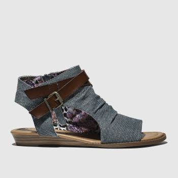 Blowfish Malibu Blue Balla Womens Sandals