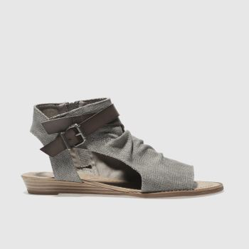 Blowfish Grey Balla Womens Sandals