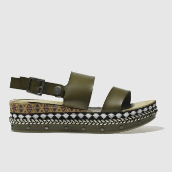 Blowfish Khaki Lola-B Womens Sandals