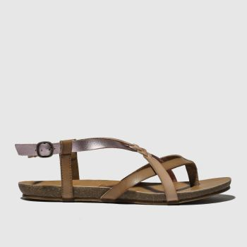 Blowfish Pink Granola B Vegan Womens Sandals
