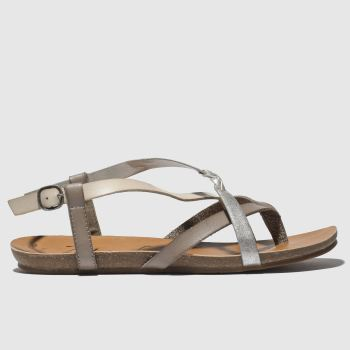 Blowfish Malibu Grey Granola B Vegan Womens Sandals