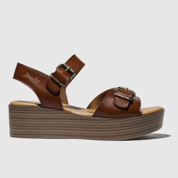Blowfish Brown Leeds Vegan Womens Sandals