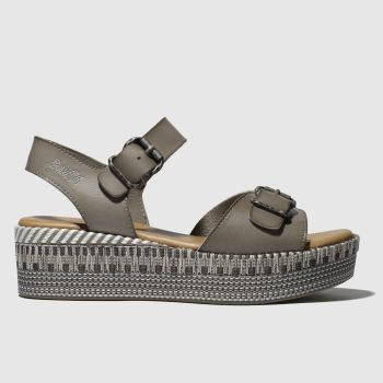 Blowfish Light Grey Leeds B Womens Sandals