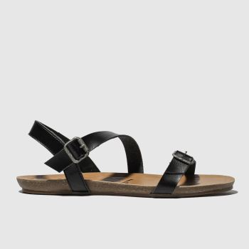 Blowfish Malibu Black Gallup Vegan Womens Sandals