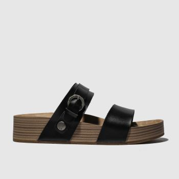 Blowfish Malibu Black Marge Vegan Womens Sandals
