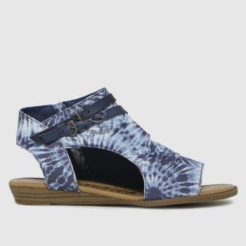 Blowfish Malibu Blue Blumoon Womens Sandals