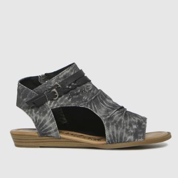 Blowfish Malibu Black Blumoon Womens Sandals