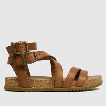 Blowfish Malibu Tan Fandie Vegan Womens Sandals