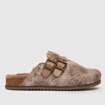 Blowfish Malibu Brown & Stone Feliz Vegan Womens Sandals