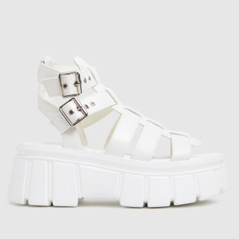 schuh White Tami Chunky Womens Sandals