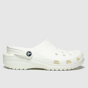 crocs White Classic Clog Womens Sandals