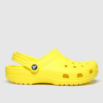 Crocs Yellow Classic Clog Womens Sandals