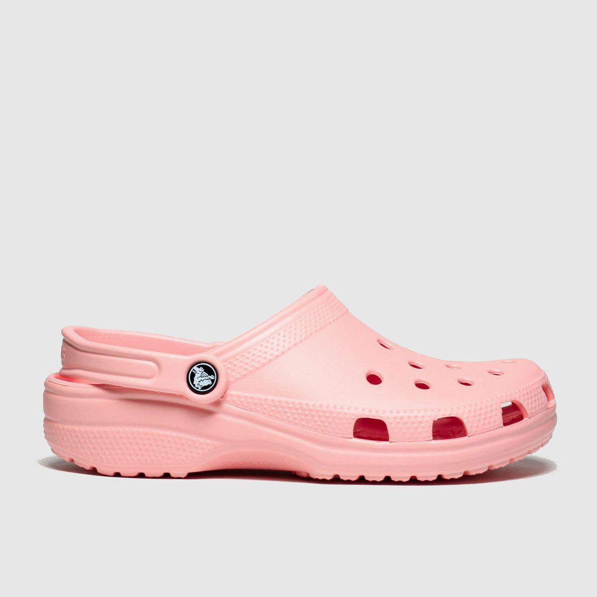 Crocs Pale Pink Classic Clog Sandals