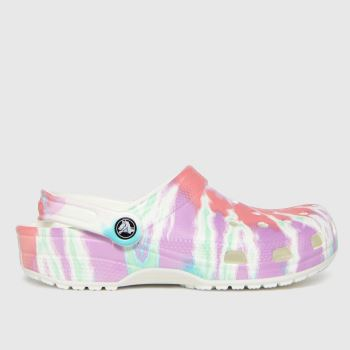 crocs Purple Classic Clog Womens Sandals