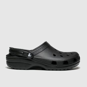 Crocs Black Classic Clog Womens Sandals