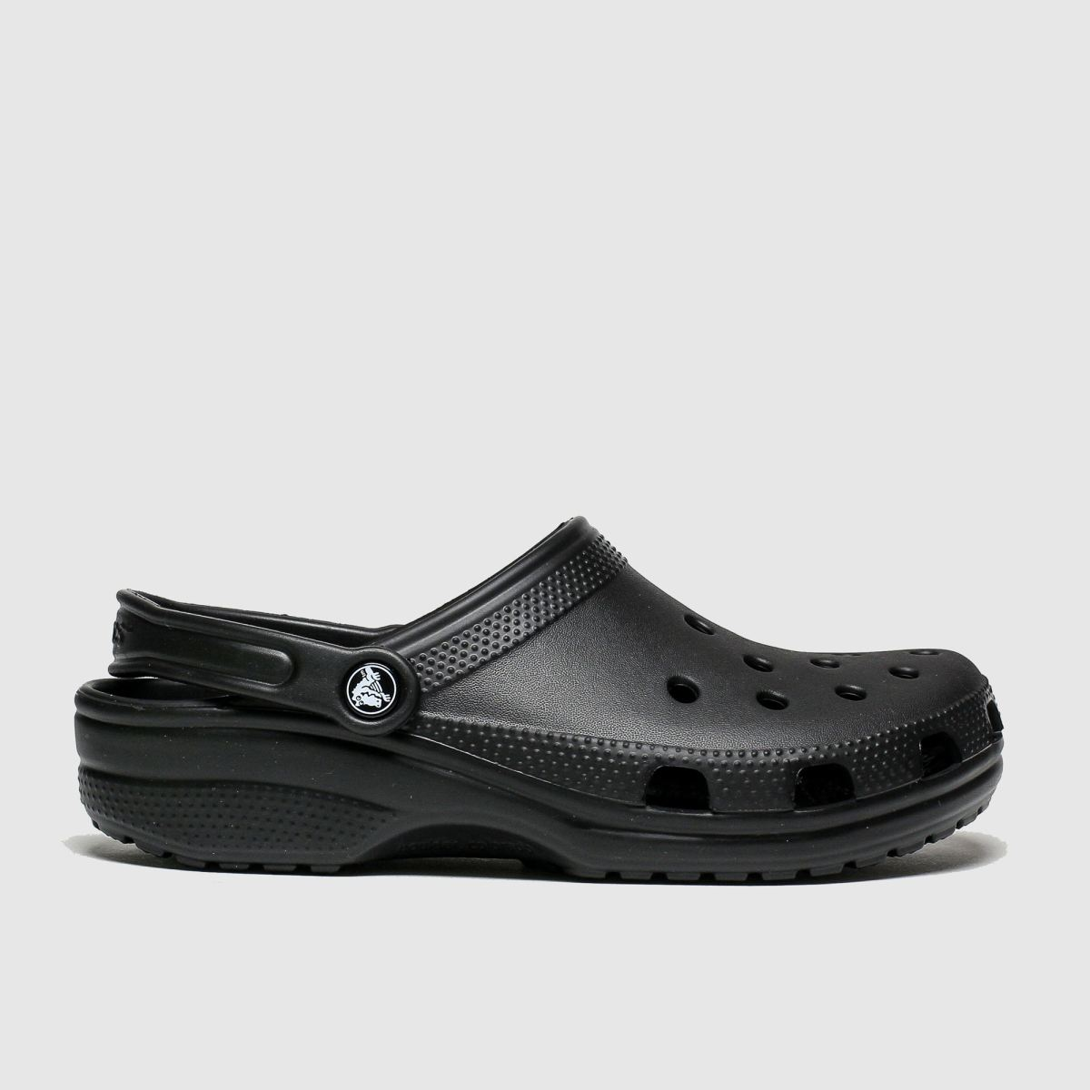 Crocs Black Classic Clog Sandals