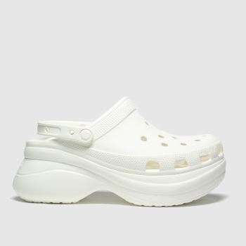 Crocs White Bae Platform Classic c2namevalue::Womens Sandals