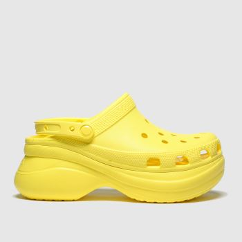 crocs Yellow Bae Platform Classic Womens Sandals