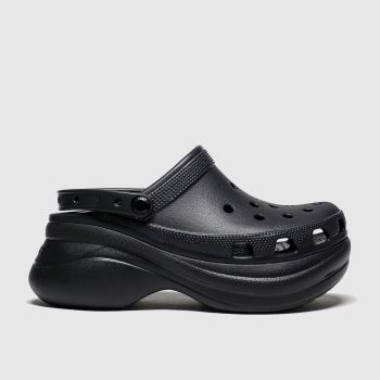 Crocs Black Bae Platform Classic c2namevalue::Womens Sandals