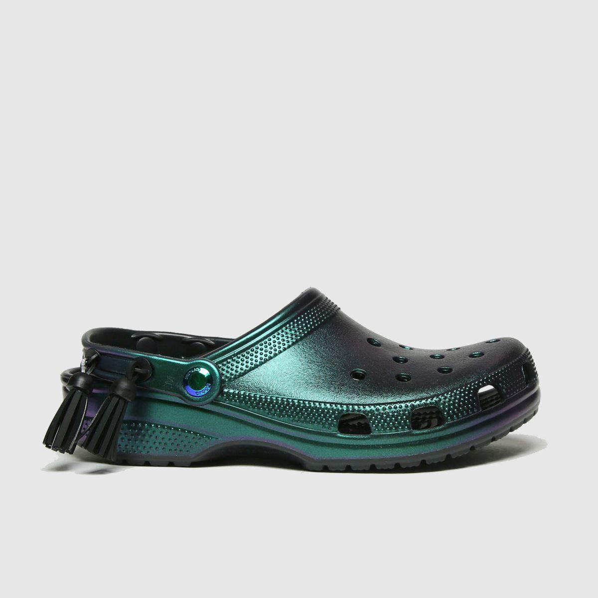 Crocs Crocs Purple Festival Classic Clog Sandals