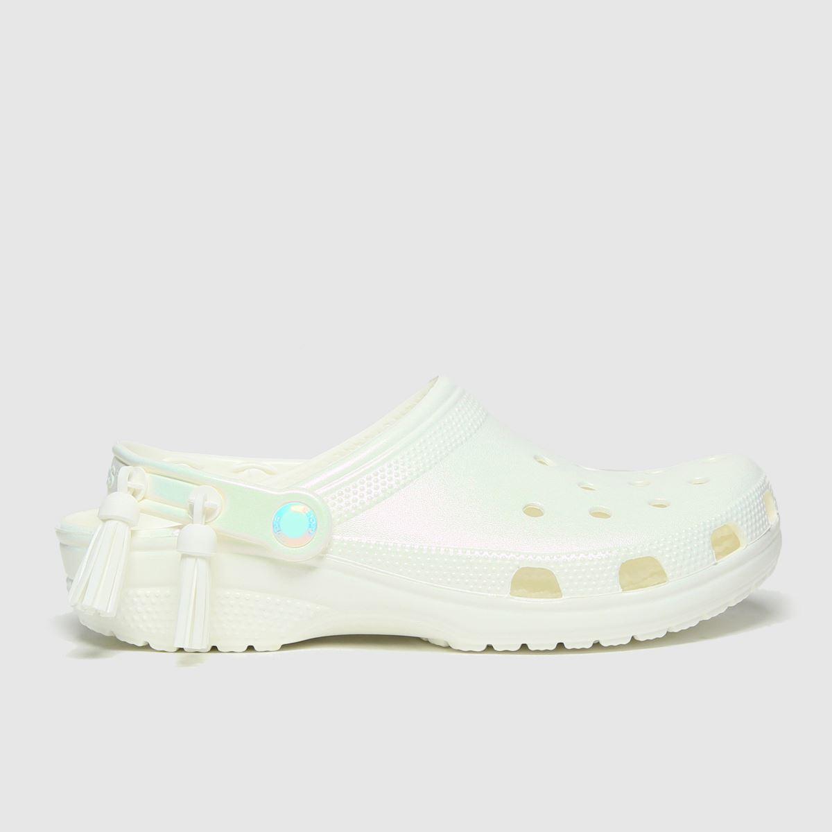 Crocs Crocs Silver Festival Classic Clog Sandals