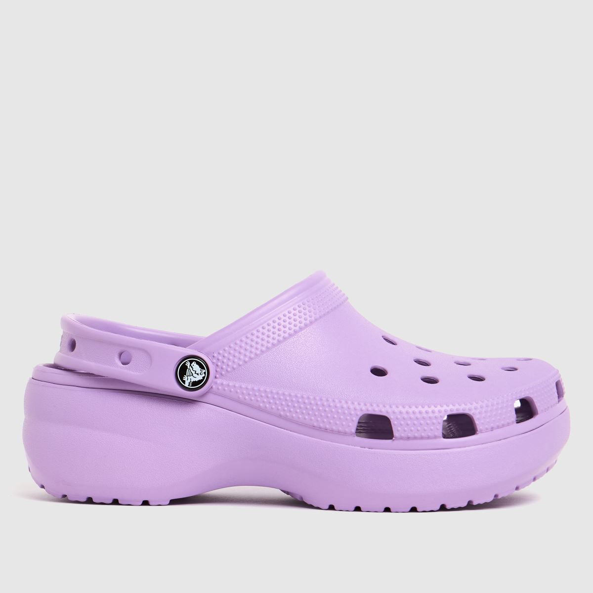 Crocs Lilac Classic Platform Sandals