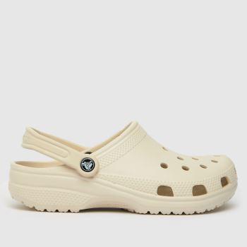 crocs Natural Classic Clog Womens Sandals
