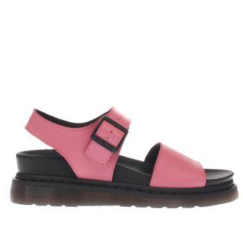 a09582c4d8e4 womens pink dr martens romi strap sandal sandals