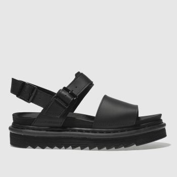 Dr Martens Black Zebrilus Voss Womens Sandals