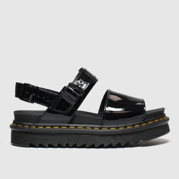 Dr Martens Black Voss Womens Sandals#